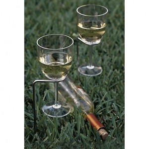 Crate and Barrel Wine Glass Stands