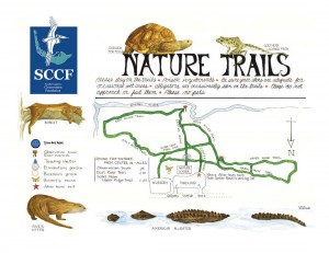 Sanibel Trail Map