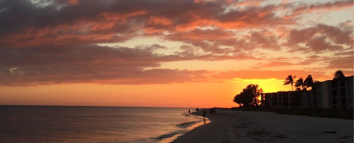 Sundial Sunset