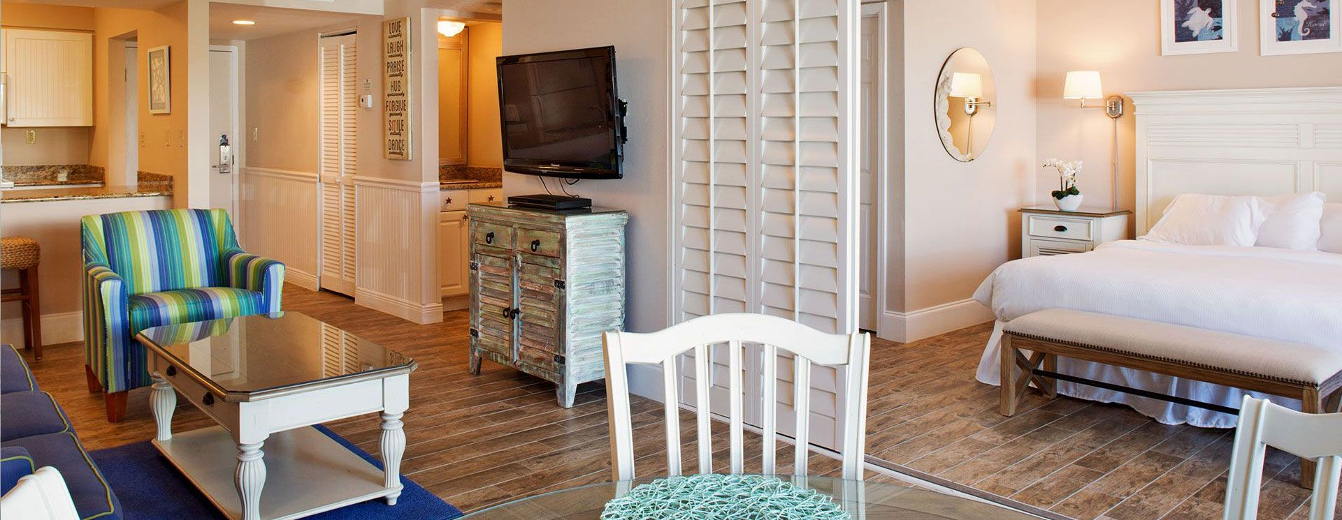 studio room sanibel island accommodations vacation. Black Bedroom Furniture Sets. Home Design Ideas