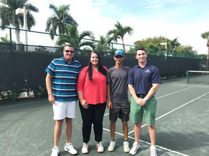 sundial tennis department group photo