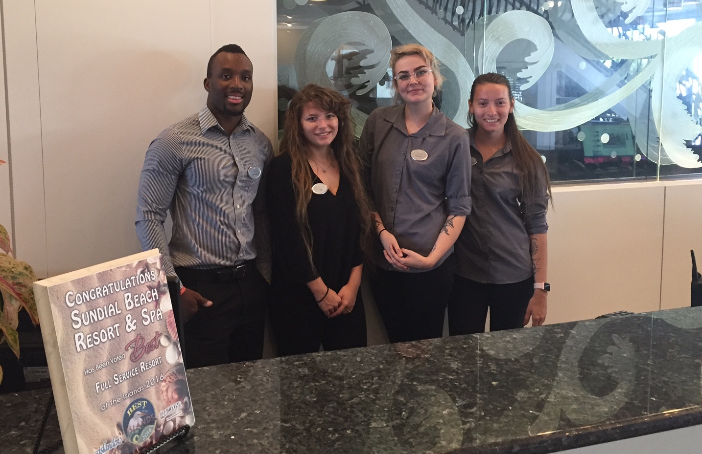 sundial front desk team