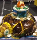 turtle shaped cake sanibel baileys