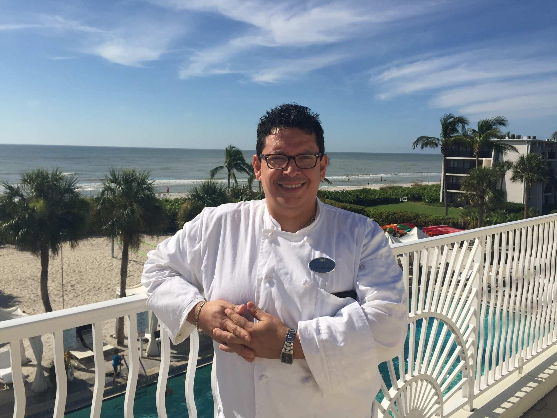 Chef Aaron Chavarria