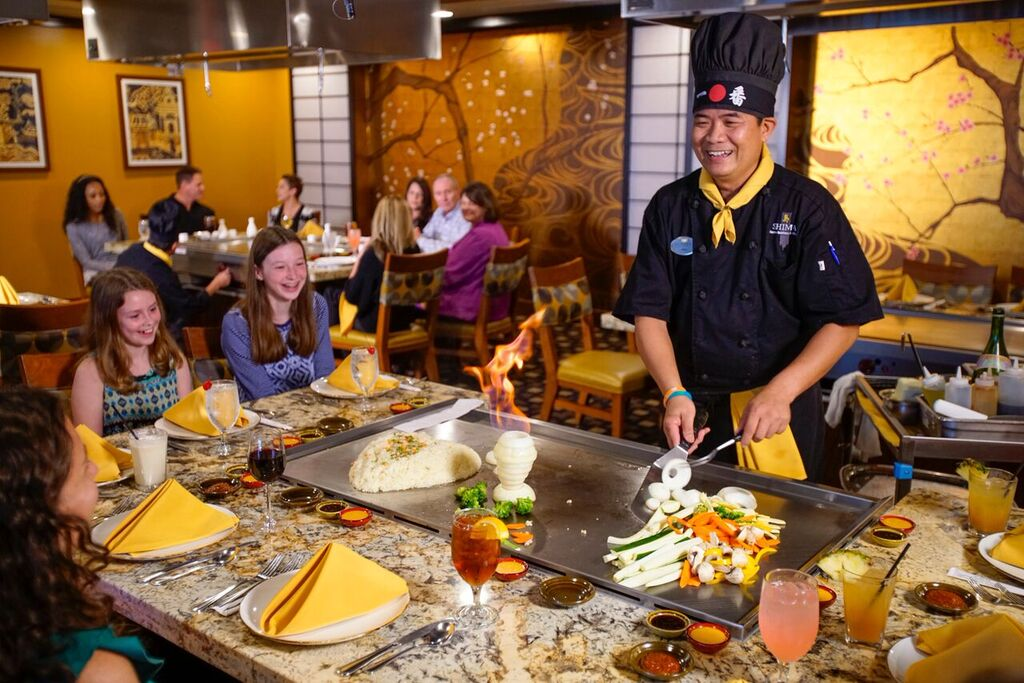 hibachi chef fire sanibel florida