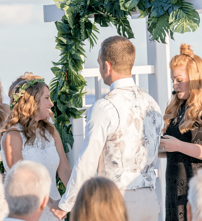 beach ceremony sanibel island 2017