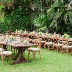 Outdoor Reception in Garden