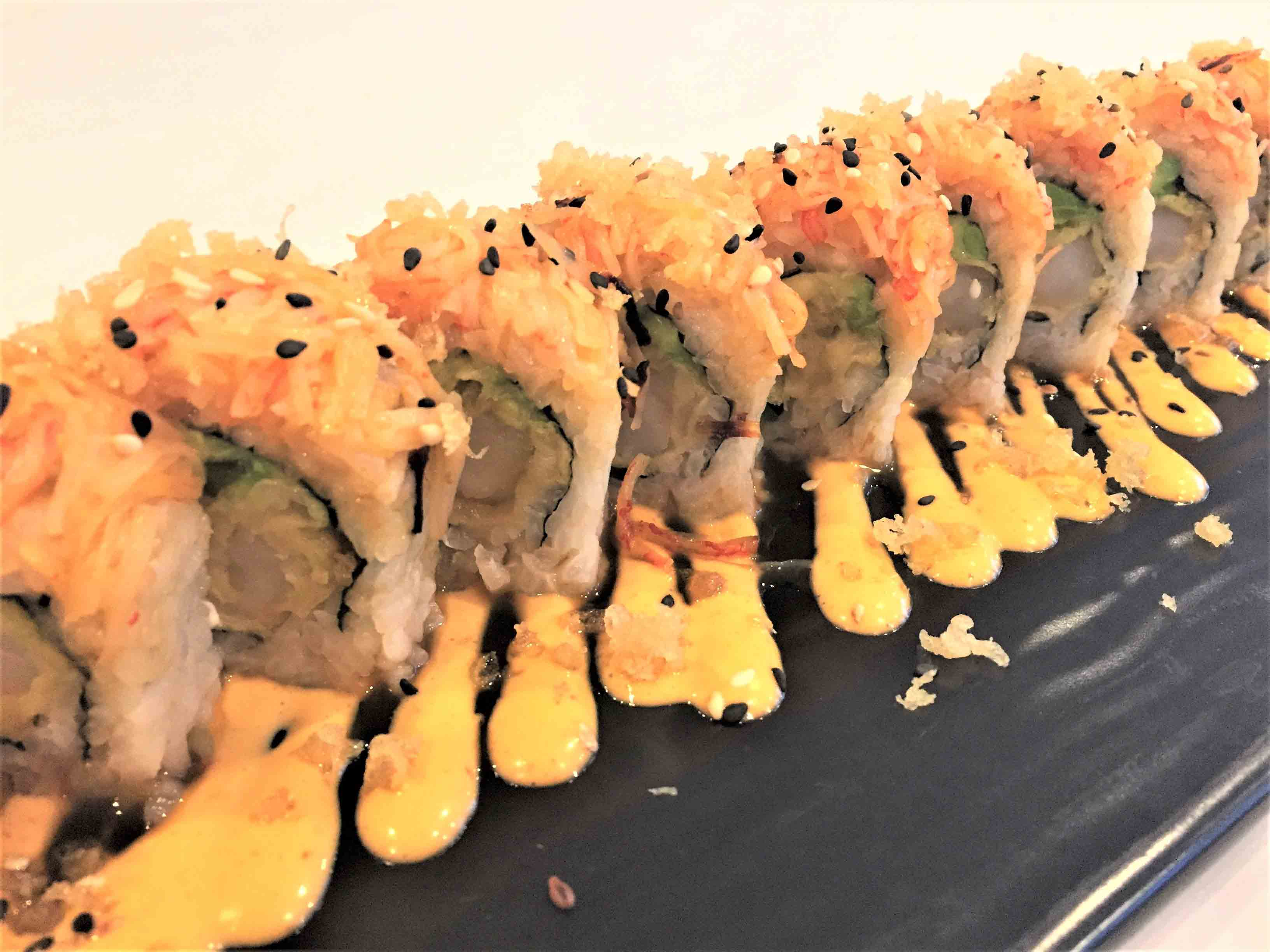 Spicy Mexican Roll sushi sanibel