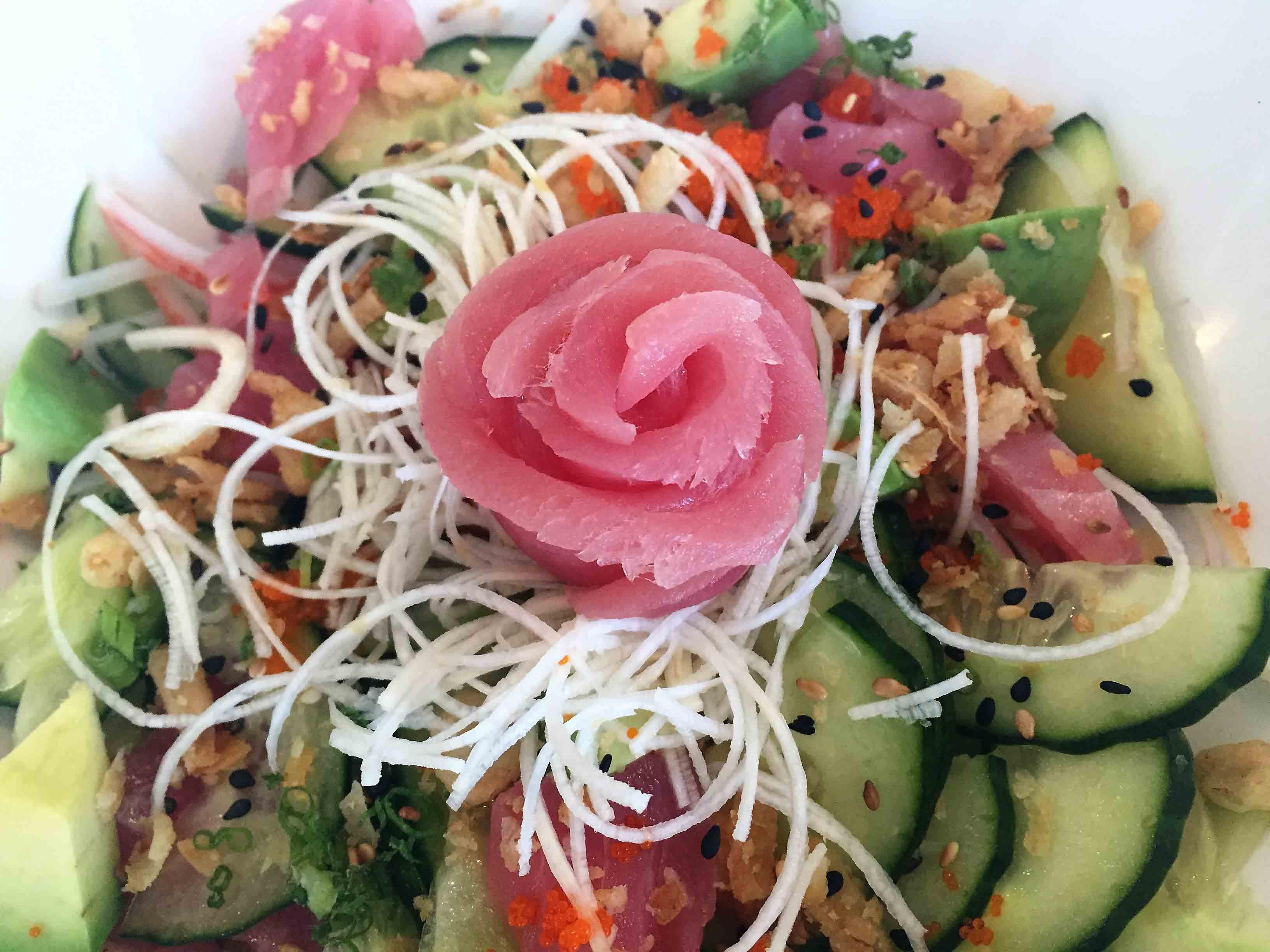 kani su salad shima sushi