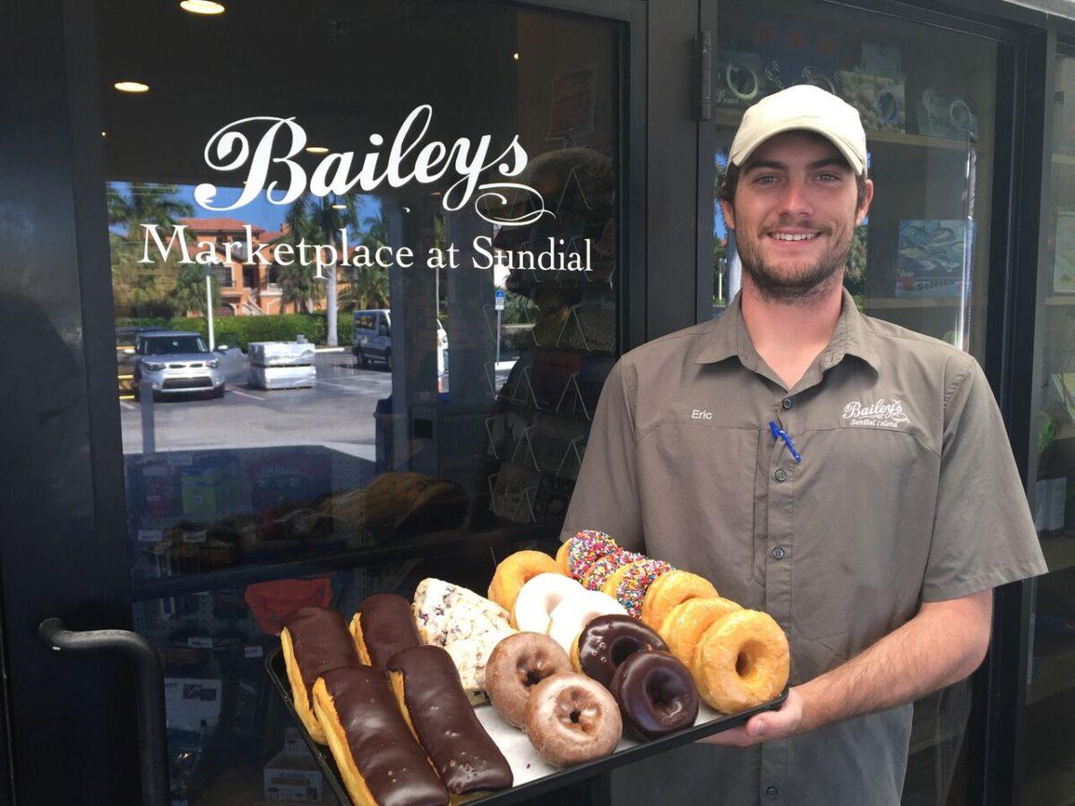 fresh donuts baileys sanibel sundial