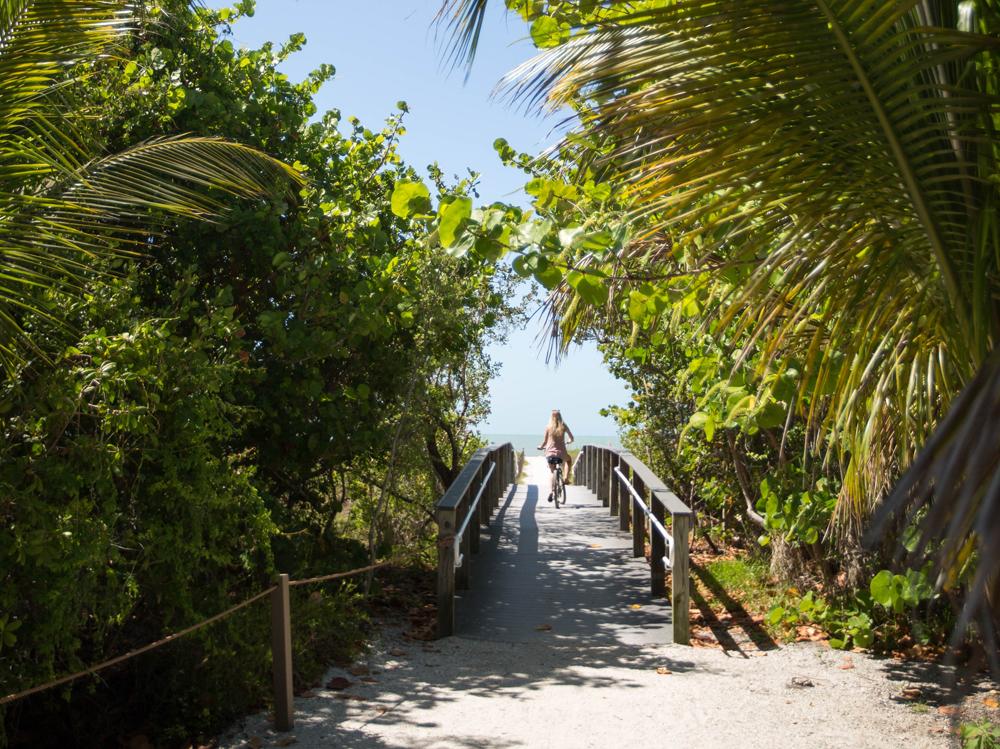 bike beach path sanibel island sundial resort