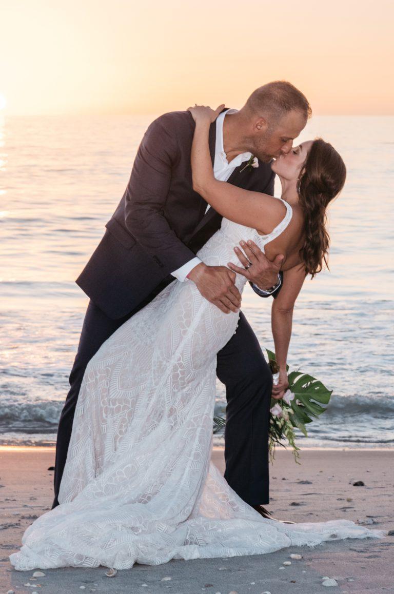 lauren and wesley Limilu Photo beach wedding