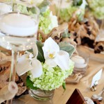 beach centerpieces